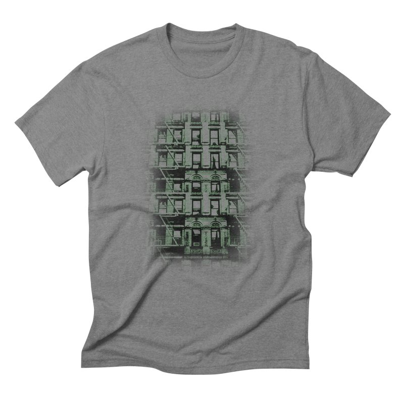 Paranormal Graffiti in Men's Triblend T-shirt Grey Triblend by jerbing's Artist Shop