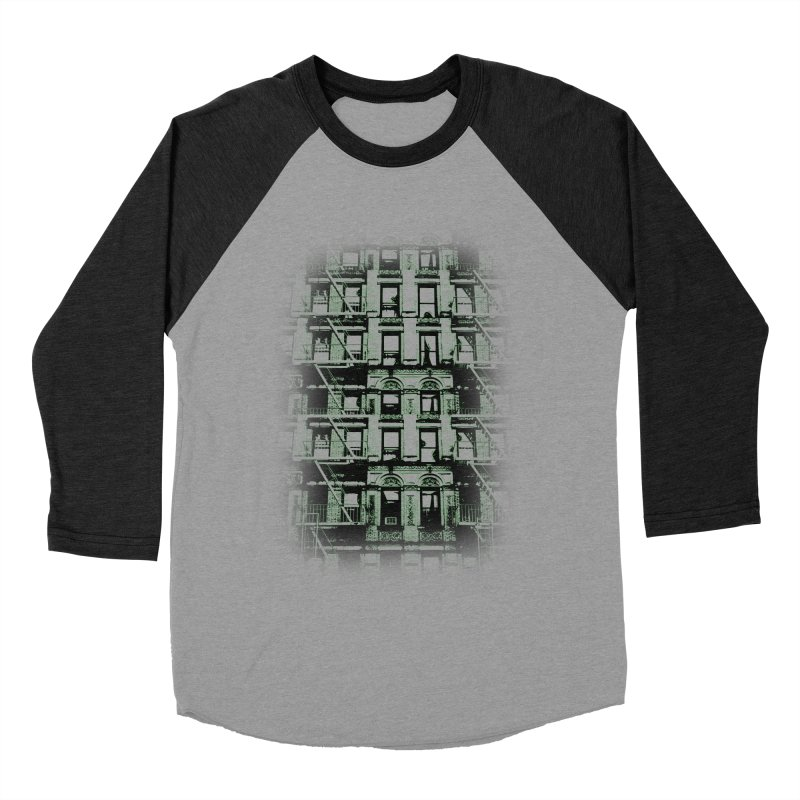 Paranormal Graffiti Men's Baseball Triblend T-Shirt by jerbing's Artist Shop