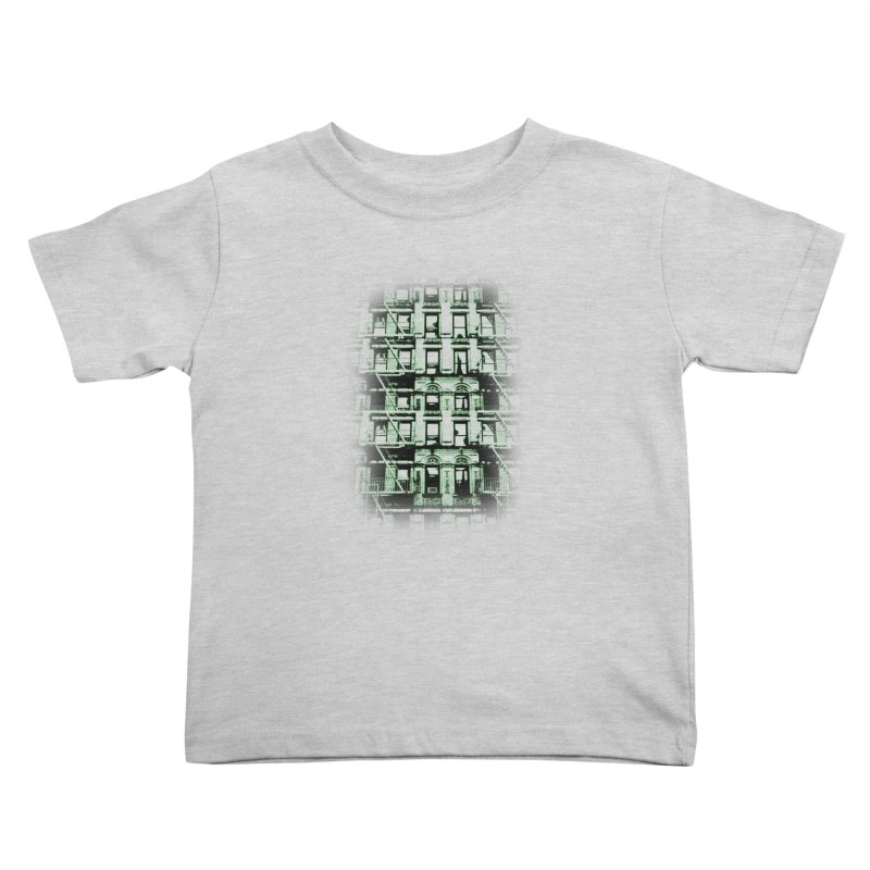 Paranormal Graffiti Kids Toddler T-Shirt by jerbing's Artist Shop