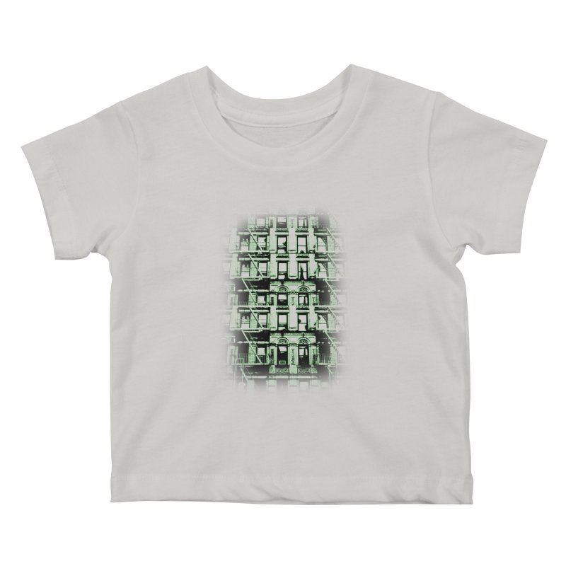 Paranormal Graffiti Kids Baby T-Shirt by jerbing's Artist Shop