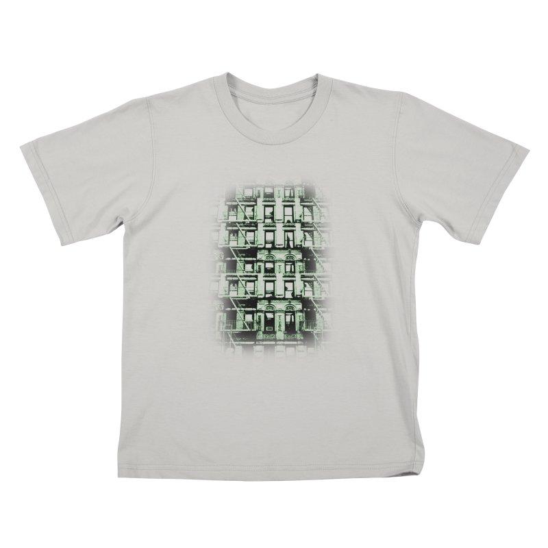 Paranormal Graffiti Kids T-Shirt by jerbing's Artist Shop