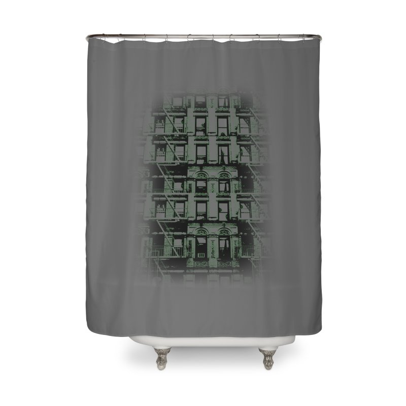 Paranormal Graffiti Home Shower Curtain by jerbing's Artist Shop