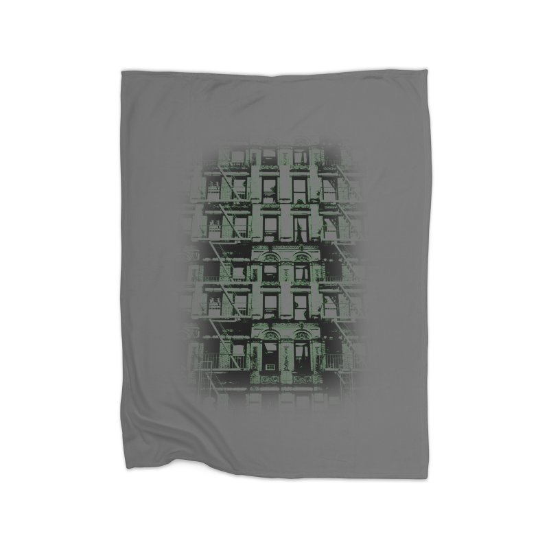 Paranormal Graffiti Home Blanket by jerbing's Artist Shop