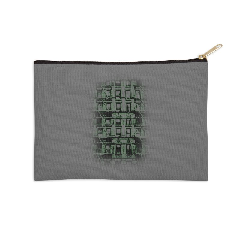 Paranormal Graffiti Accessories Zip Pouch by jerbing's Artist Shop