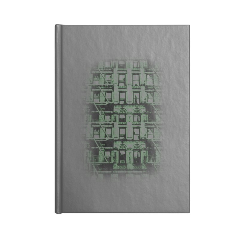 Paranormal Graffiti Accessories Notebook by jerbing's Artist Shop