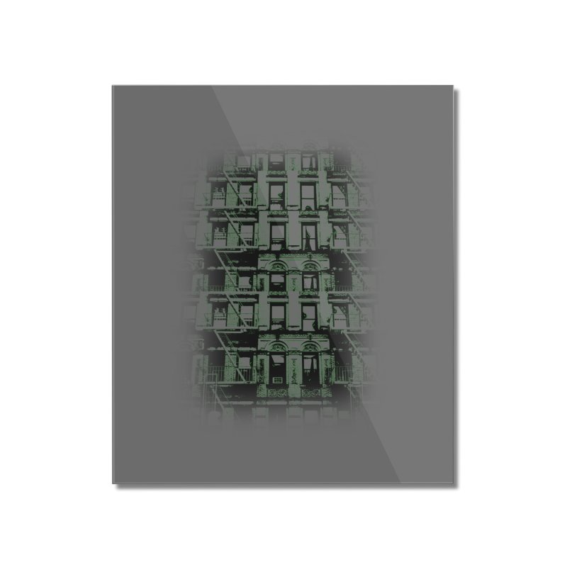 Paranormal Graffiti Home Mounted Acrylic Print by jerbing's Artist Shop