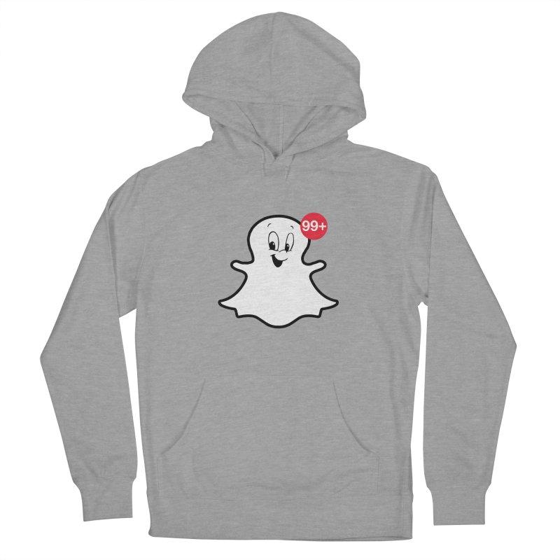 Friendly Ghost Women's Pullover Hoody by jerbing's Artist Shop