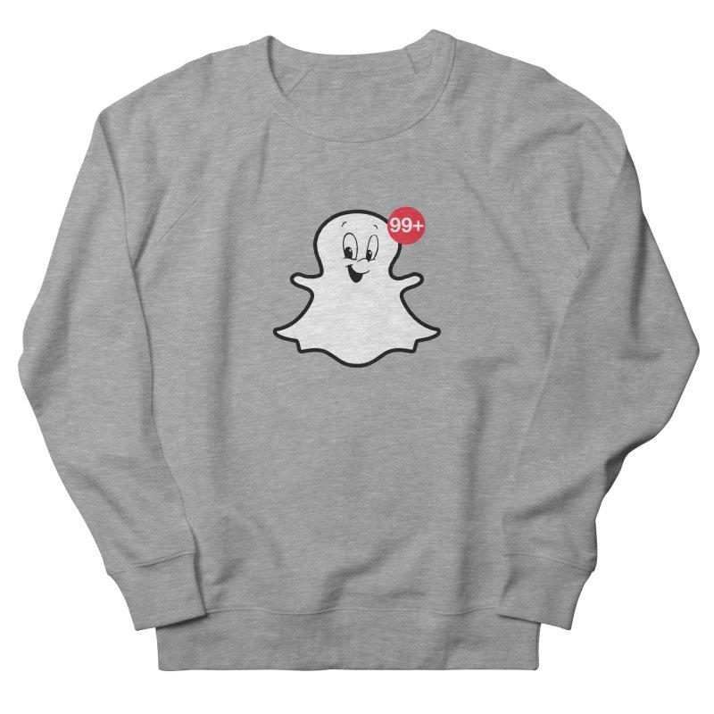 Friendly Ghost Men's Sweatshirt by jerbing's Artist Shop