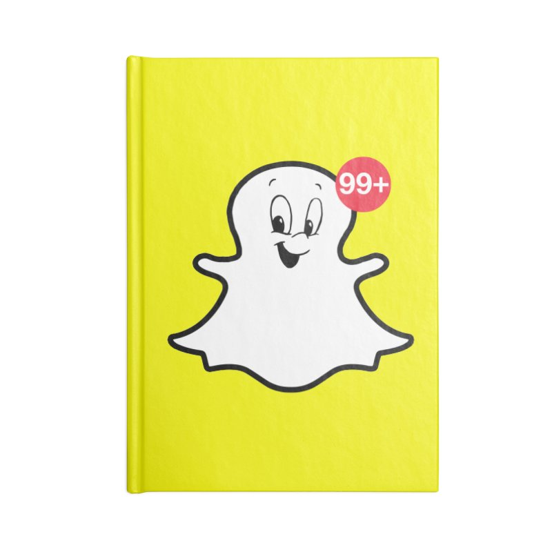 Friendly Ghost Accessories Notebook by jerbing's Artist Shop