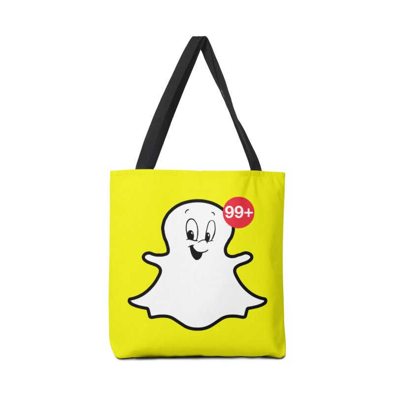 Friendly Ghost Accessories Bag by jerbing's Artist Shop