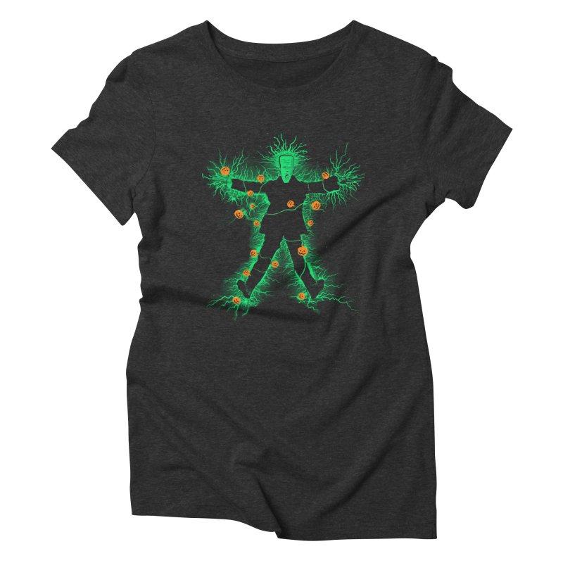 Clarkenstein Women's Triblend T-Shirt by jerbing's Artist Shop