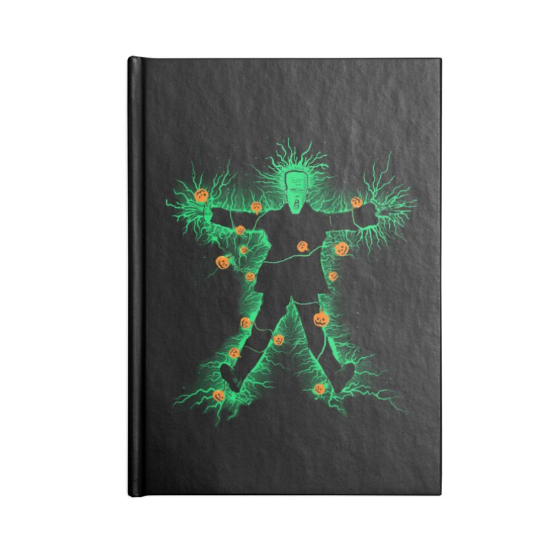 Clarkenstein Accessories Notebook by jerbing's Artist Shop