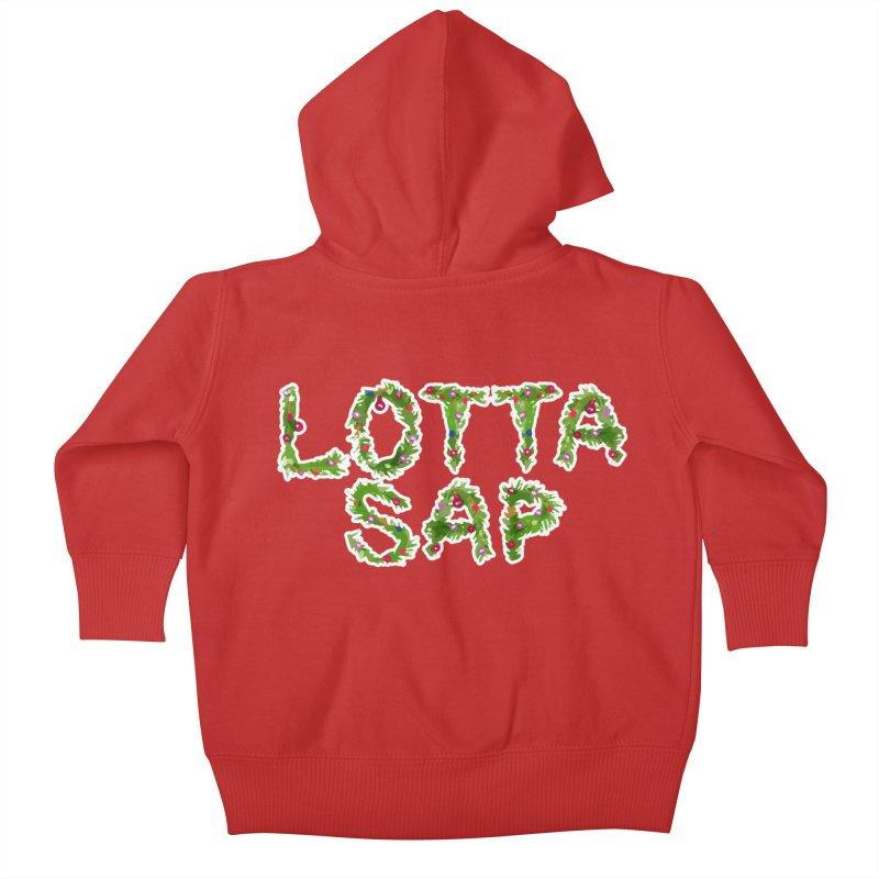 Lotta Sap Kids Baby Zip-Up Hoody by jerbing's Artist Shop