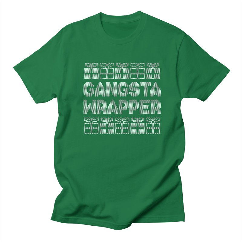 Gangsta Wrapper Men's Regular T-Shirt by jerbing's Artist Shop