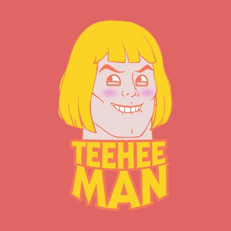 tee hee man Men's Triblend T-shirt by jerbing's Artist Shop