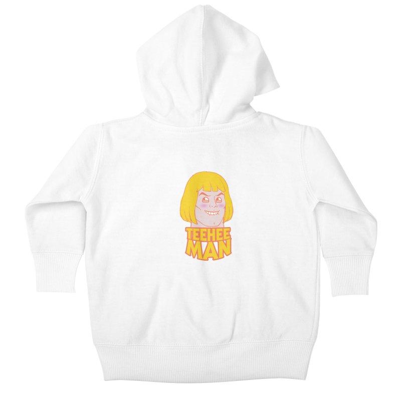 tee hee man Kids Baby Zip-Up Hoody by jerbing's Artist Shop