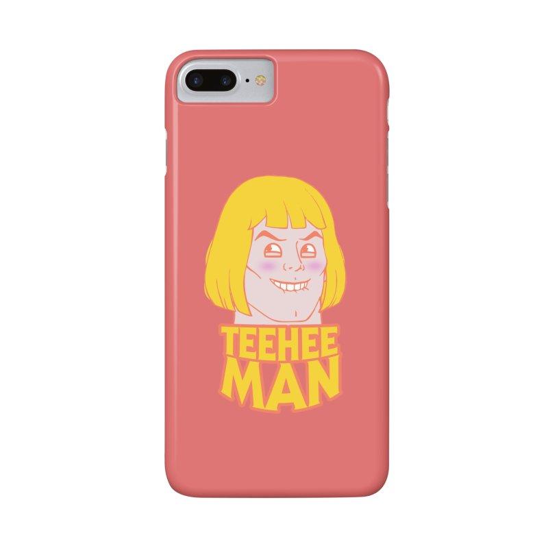 tee hee man Accessories Phone Case by jerbing's Artist Shop
