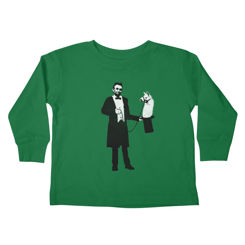 Lincoln's Llama Trick   by jerbing's Artist Shop