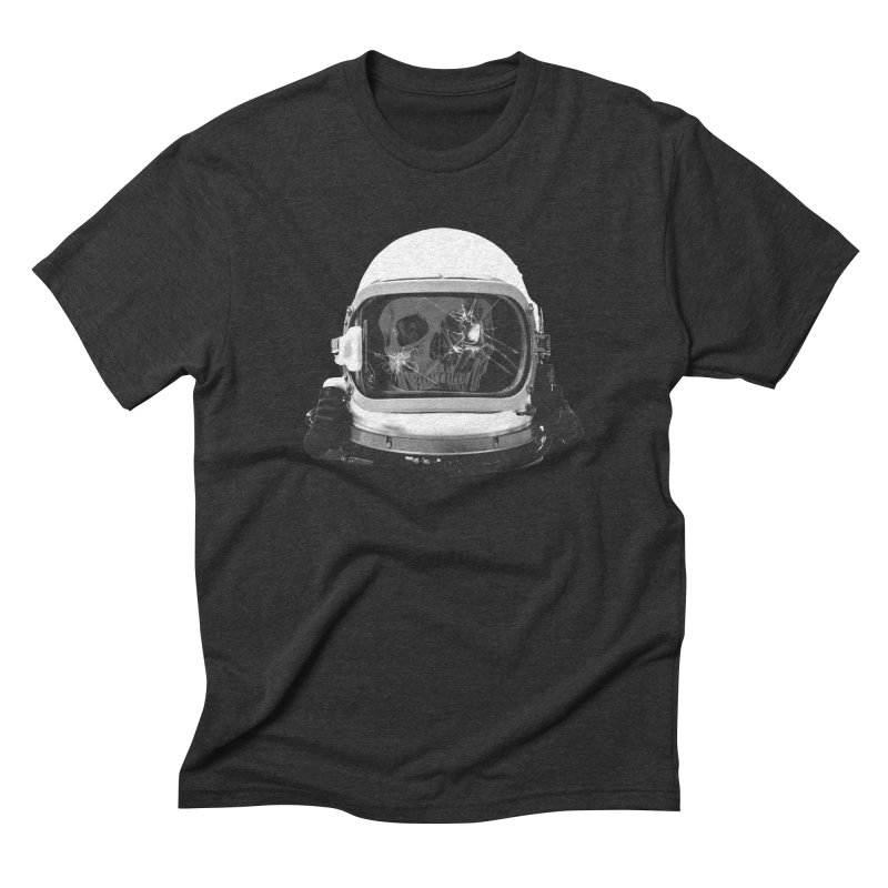 astroNOT in Men's Triblend T-shirt Heather Onyx by jerbing's Artist Shop
