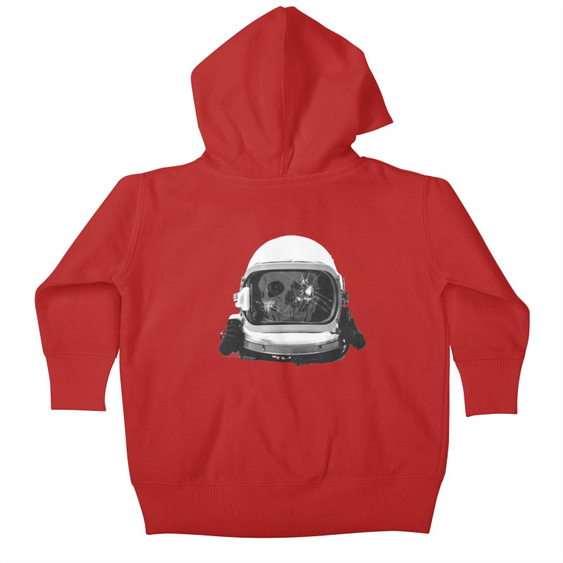 astroNOT Kids Baby Zip-Up Hoody by jerbing's Artist Shop