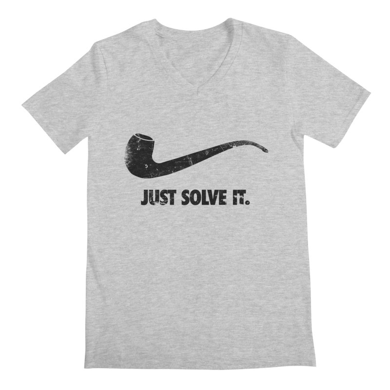 Just Solve It. Men's V-Neck by jerbing's Artist Shop