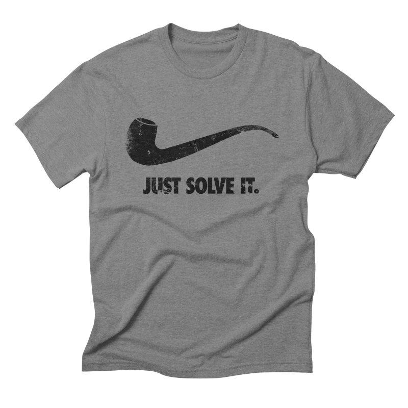 Just Solve It. Men's Triblend T-shirt by jerbing's Artist Shop