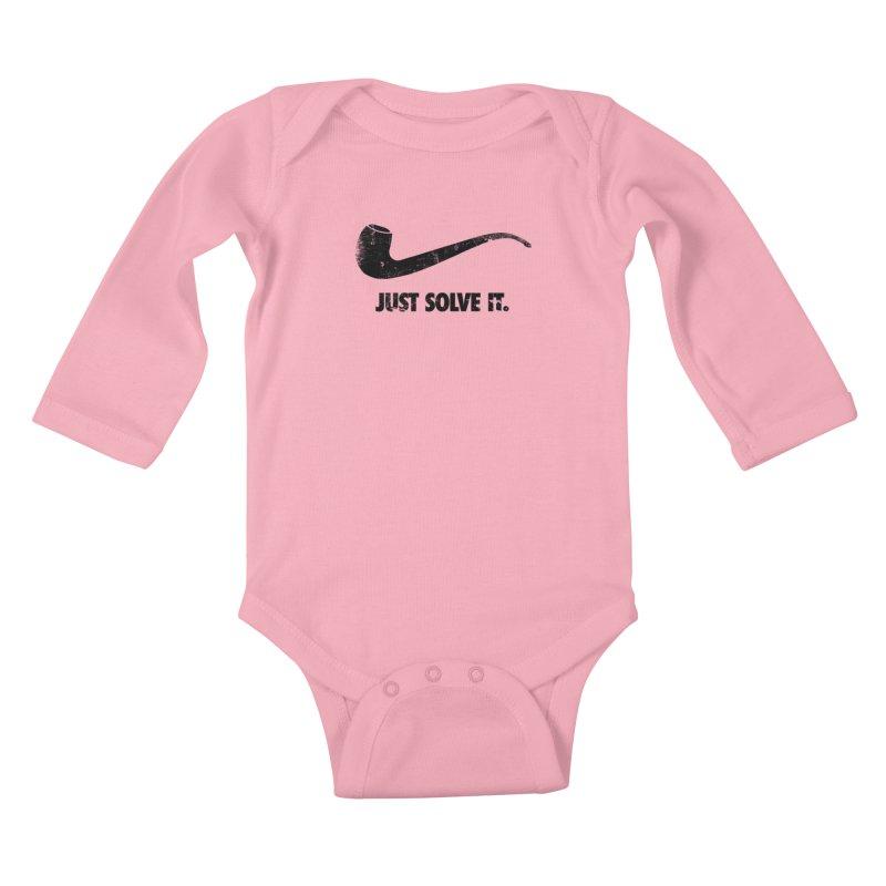 Just Solve It. Kids Baby Longsleeve Bodysuit by jerbing's Artist Shop