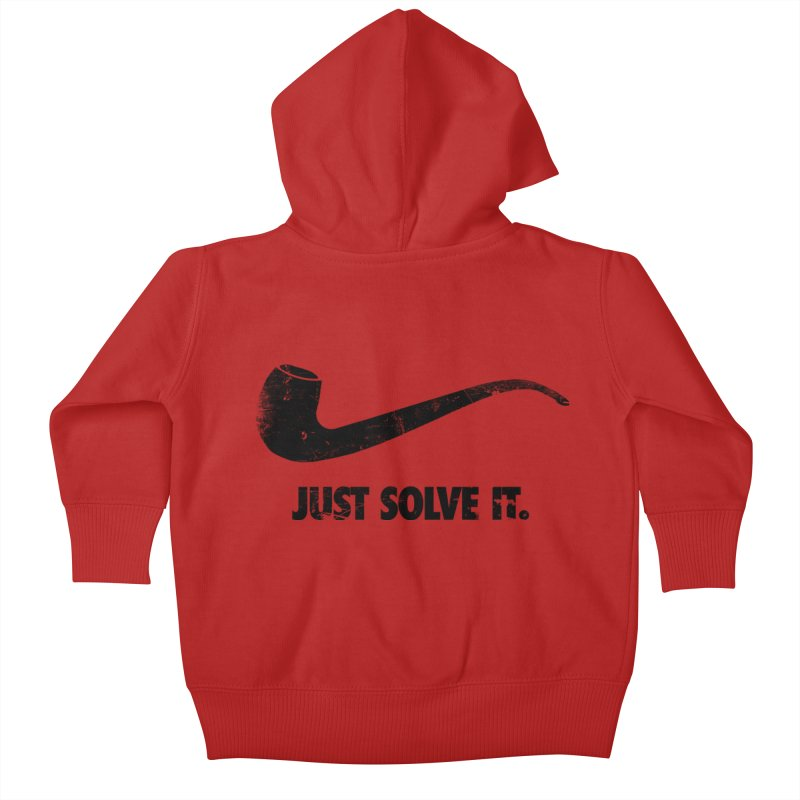 Just Solve It. Kids Baby Zip-Up Hoody by jerbing's Artist Shop