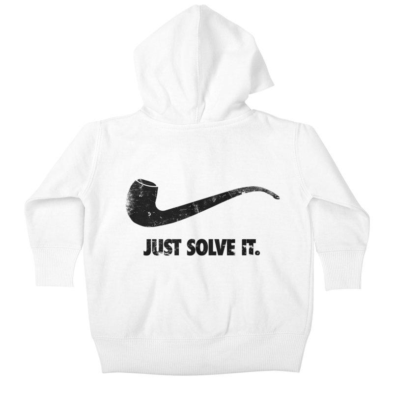 Just Solve It. Kids Baby Zip-Up Hoody by jerbing's Artist Shop