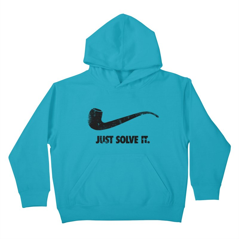 Just Solve It. Kids Pullover Hoody by jerbing's Artist Shop