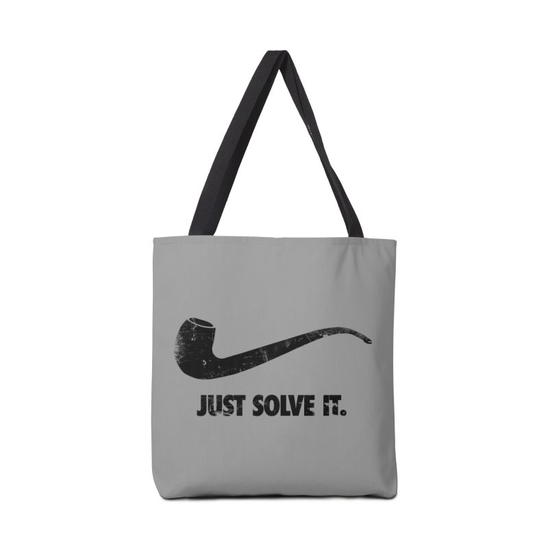 Just Solve It. Accessories Bag by jerbing's Artist Shop