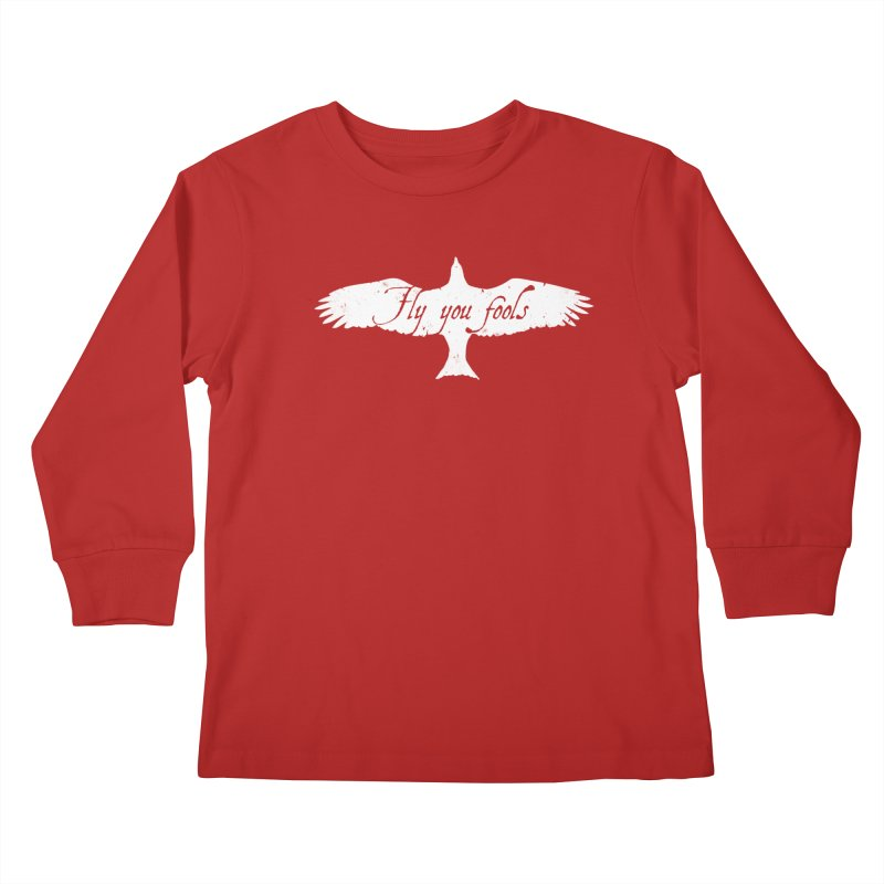 fly you fools Kids Longsleeve T-Shirt by jerbing's Artist Shop
