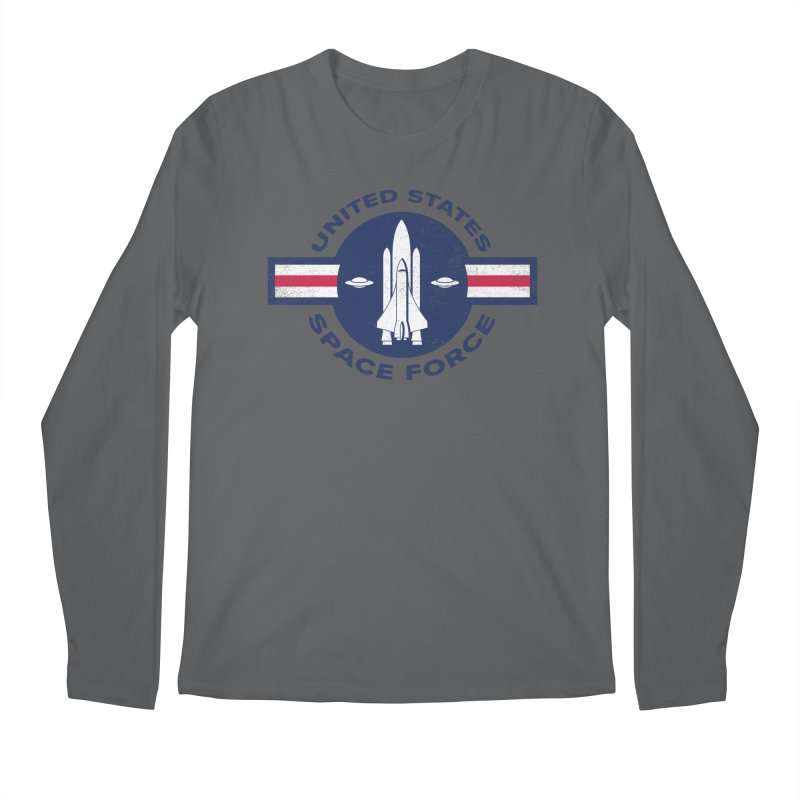 space force Men's Longsleeve T-Shirt by jerbing's Artist Shop