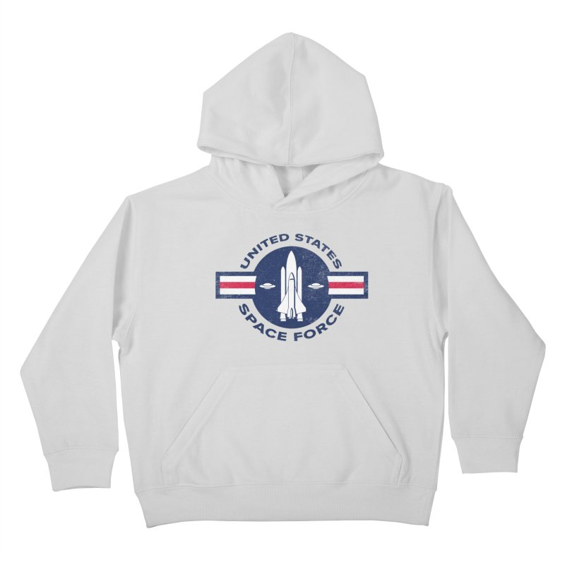 space force Kids Pullover Hoody by jerbing's Artist Shop