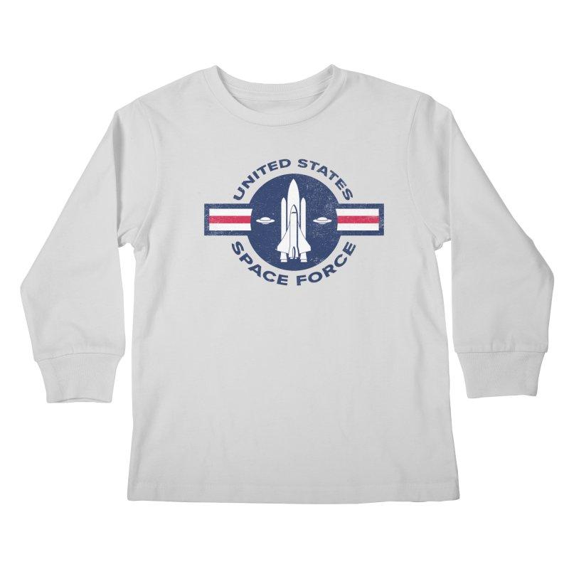 space force Kids Longsleeve T-Shirt by jerbing's Artist Shop