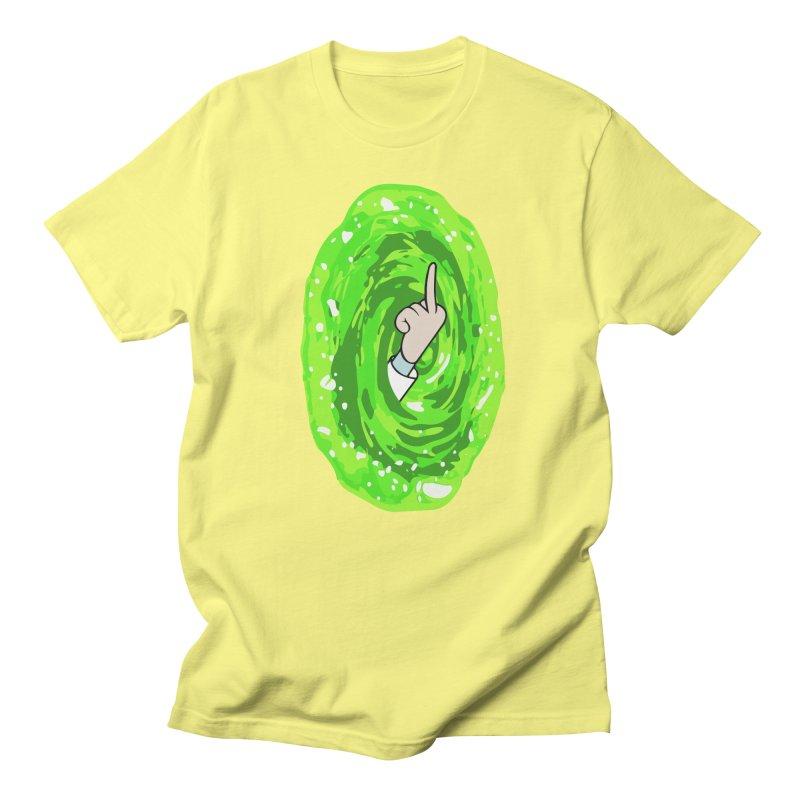 rick you Men's Regular T-Shirt by jerbing's Artist Shop