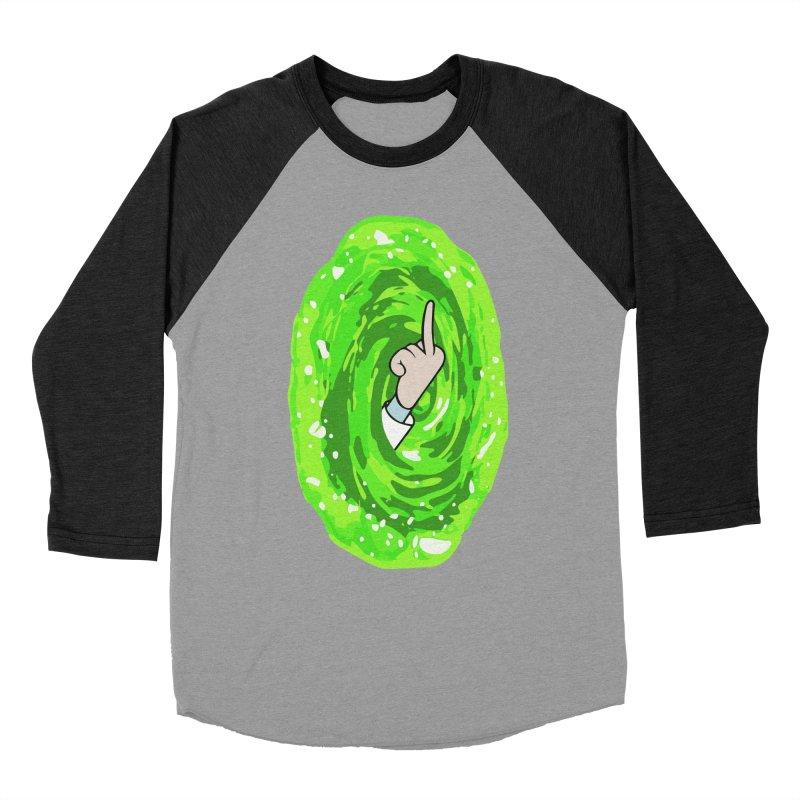 rick you Women's Baseball Triblend Longsleeve T-Shirt by jerbing's Artist Shop
