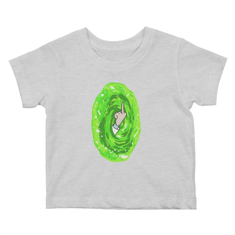 rick you Kids Baby T-Shirt by jerbing's Artist Shop
