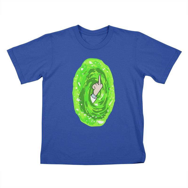 rick you Kids T-Shirt by jerbing's Artist Shop