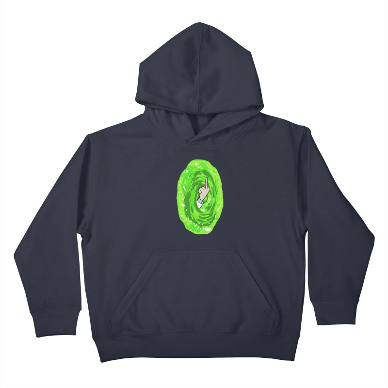 rick you Kids Pullover Hoody by jerbing's Artist Shop