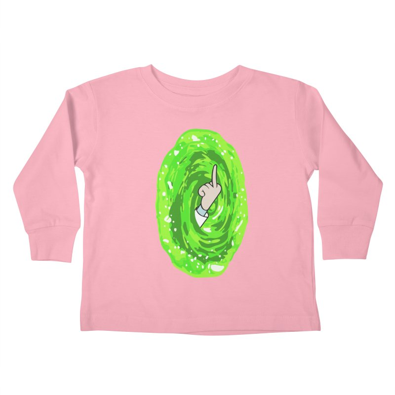 rick you Kids Toddler Longsleeve T-Shirt by jerbing's Artist Shop