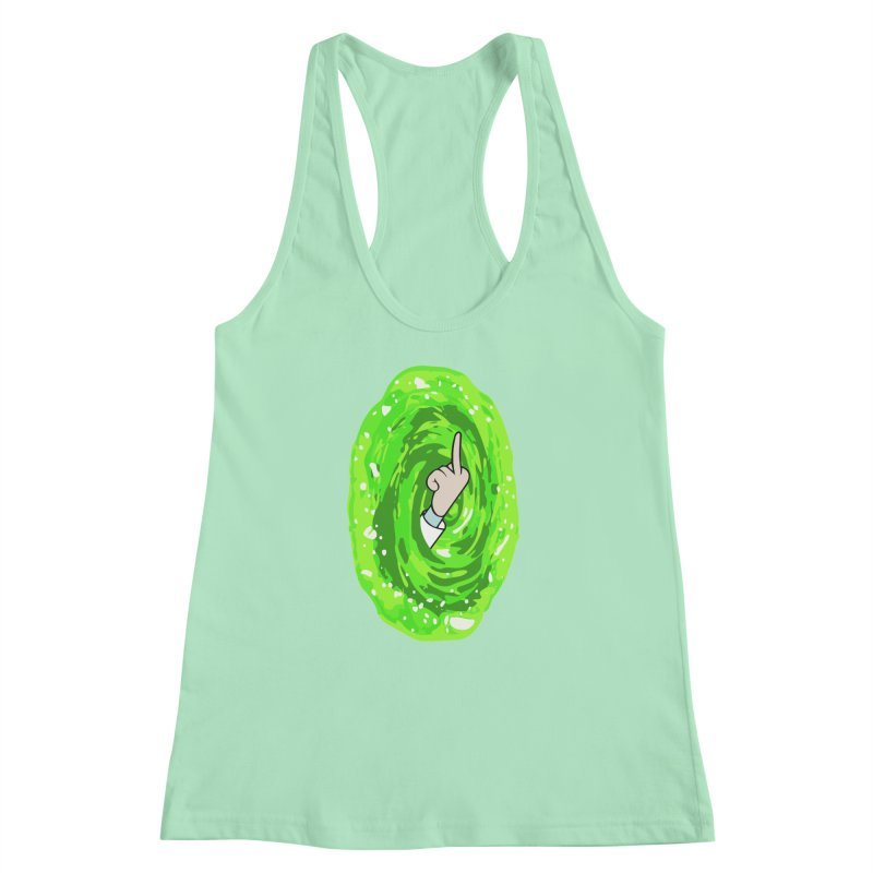 rick you Women's Racerback Tank by jerbing's Artist Shop