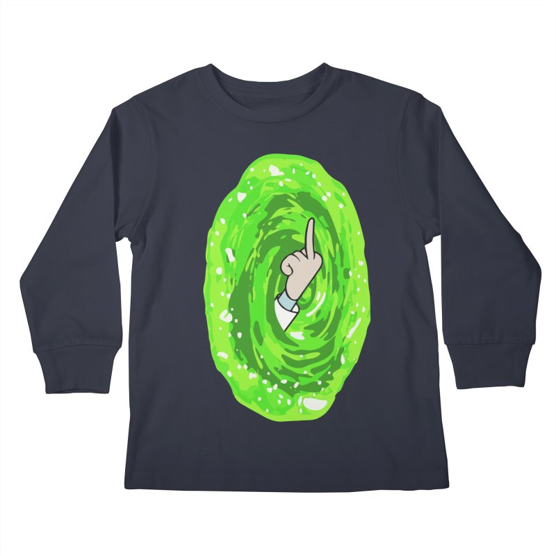 rick you Kids Longsleeve T-Shirt by jerbing's Artist Shop