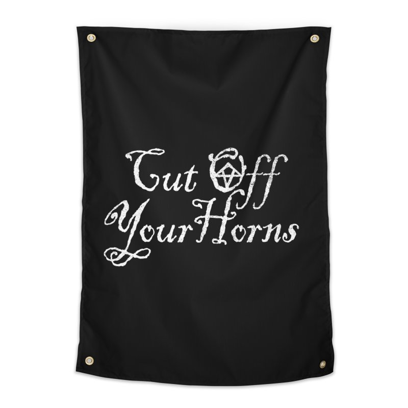 cut off your horns Home Tapestry by jerbing's Artist Shop