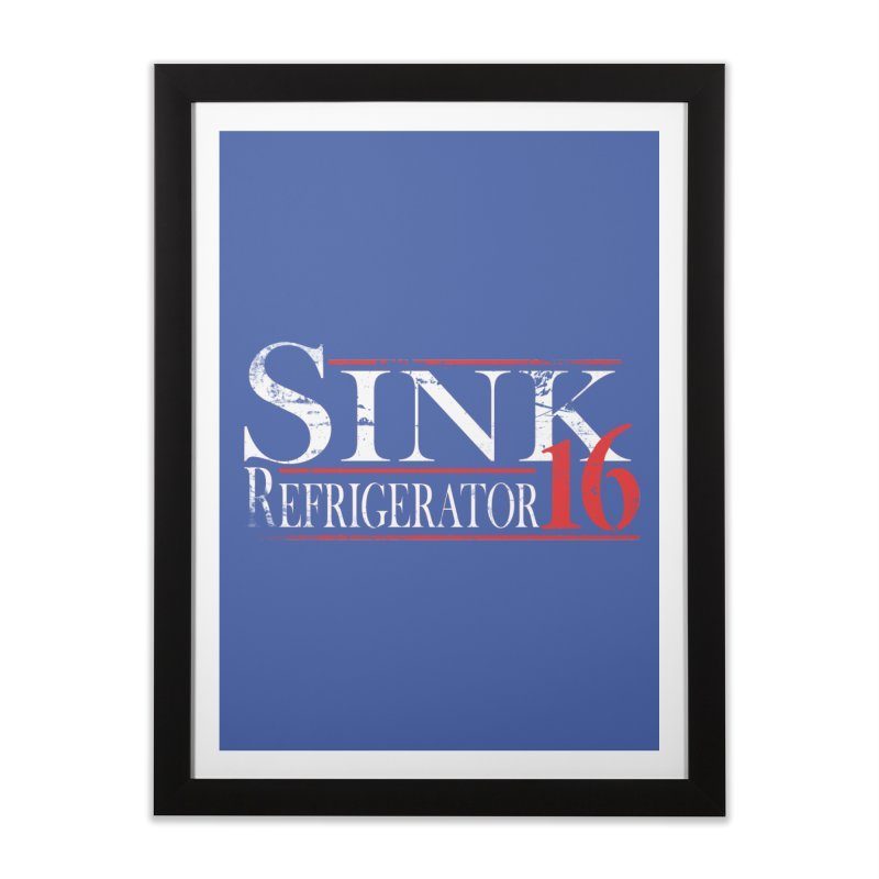 SINK 16 Home Framed Fine Art Print by jerbing's Artist Shop