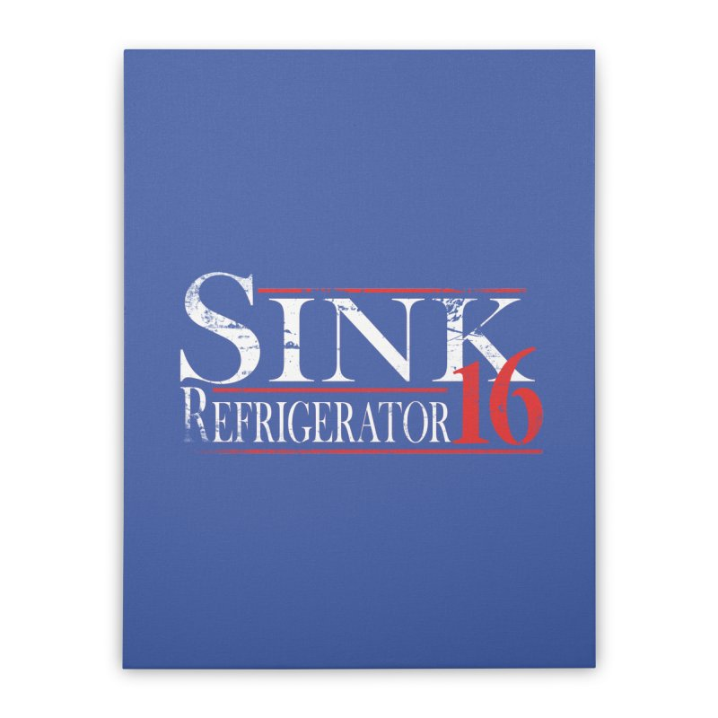 SINK 16 Home Stretched Canvas by jerbing's Artist Shop