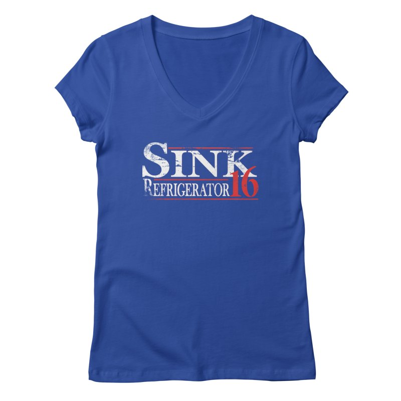 SINK 16 Women's V-Neck by jerbing's Artist Shop