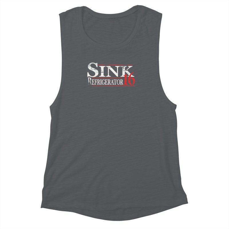 SINK 16 Women's Muscle Tank by jerbing's Artist Shop
