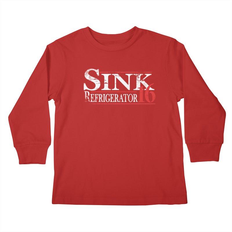 SINK 16 Kids Longsleeve T-Shirt by jerbing's Artist Shop