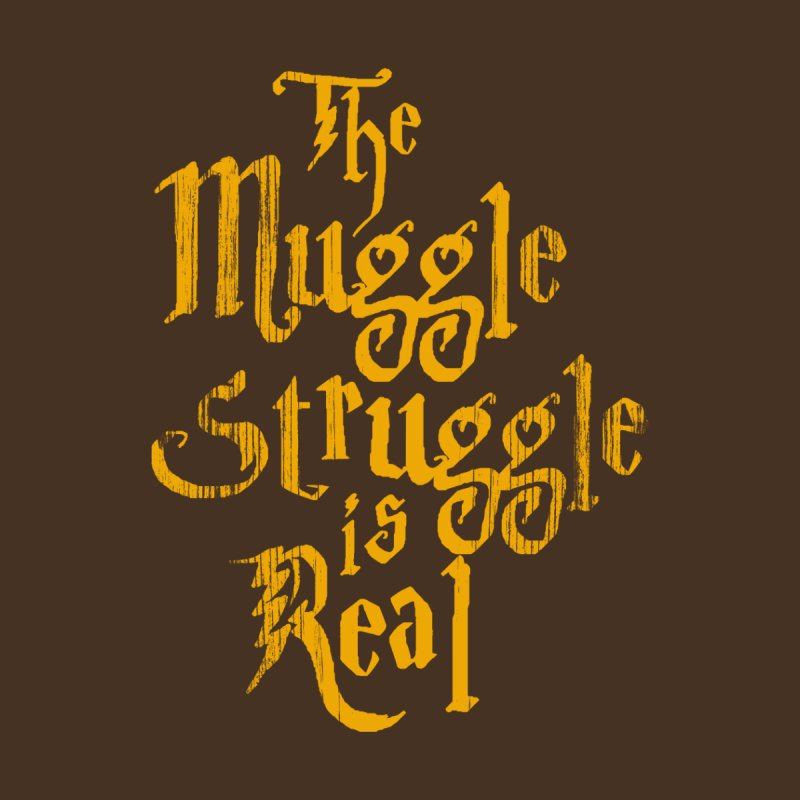 Muggle Struggle Women's Triblend T-shirt by jerbing's Artist Shop